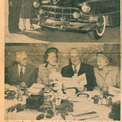 (DOLORES.2010.01.12) - Newspaper clipping on Duncan Hines